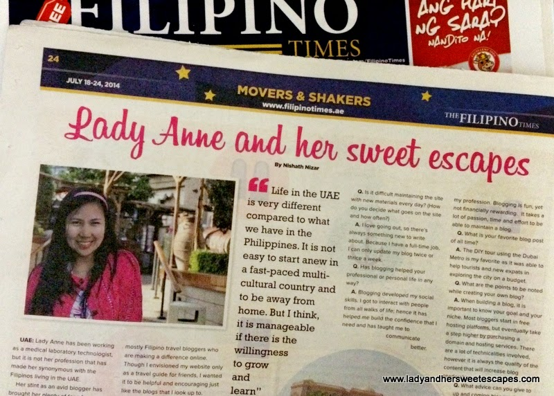 The Filipino Times UAE