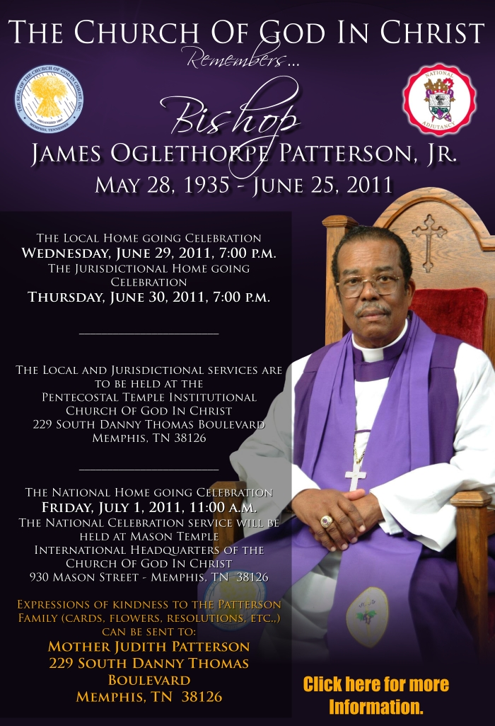 Bishop j o patterson sr wife sexual dysfunction