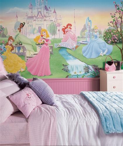 Lasten Tapetti Valokuvatapetti Lapsia Disney Prinsessa lasten tapetti lastenhuoneeseen