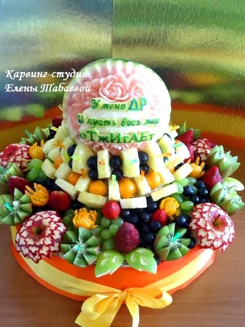 букеты из фруктов южно-сахалинск