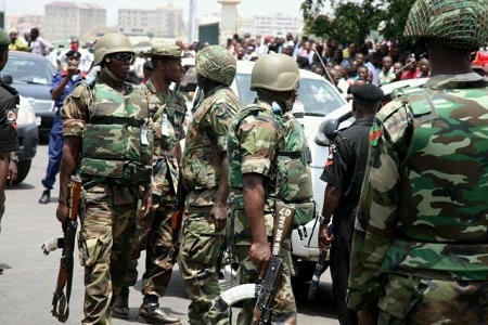 Horror as Armed Soldiers Invade Bayelsa Communities, Destroy Buildings, Cart Away Cash and 3 Speed Boats