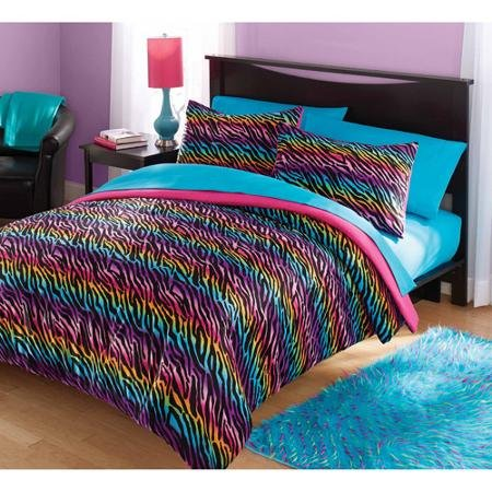 Rainbow Leopard And Zebra Print Comforter Amp Bedding Sets