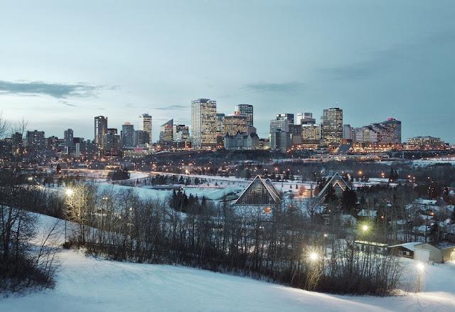 Inverno em Edmonton