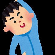 体操のイラスト(男の子)
