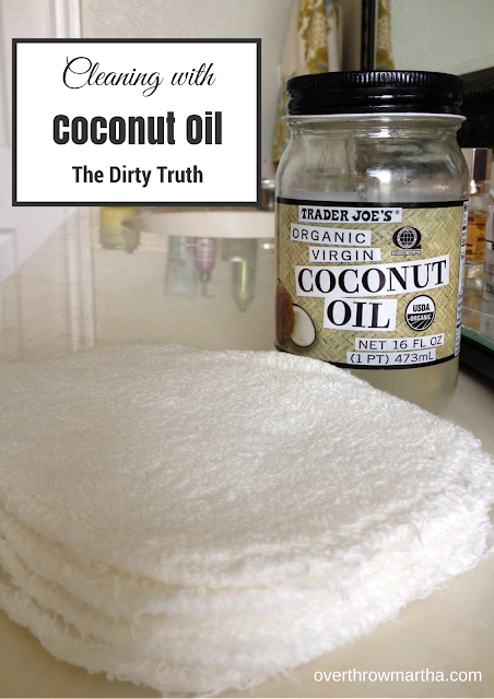 15 ways to use coconut oil in your home: Oil Cleansing Method