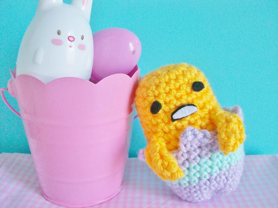 Gudetama Breakfast Plate Amigurumi Crochet (Pattern Only) - Ollie ... | 692x922