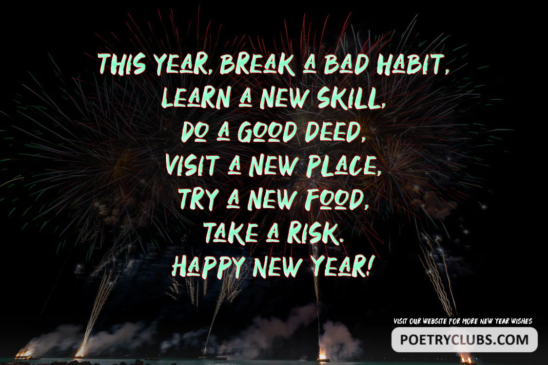 Happy New Year 2020 Messages.Happy New Year 2020 Wishes Messages Greetings Poetry Club
