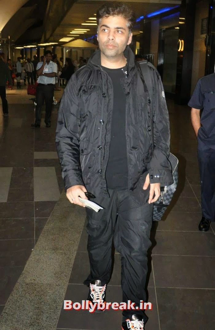 Karan Johar, New Year Celebrations: Various Celebs Snapped at Airport