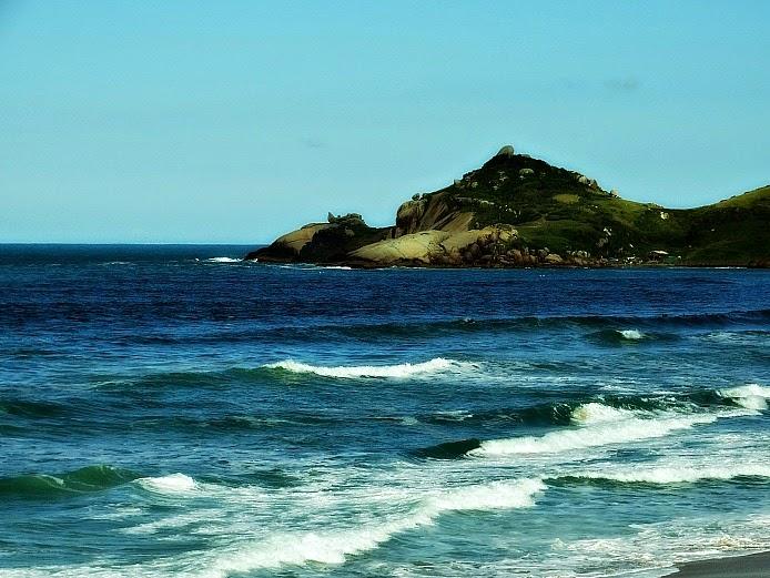 Praia Mole, no leste da Ilha, Florianópolis