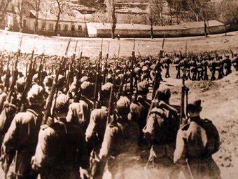 Красная армия в Симферополе