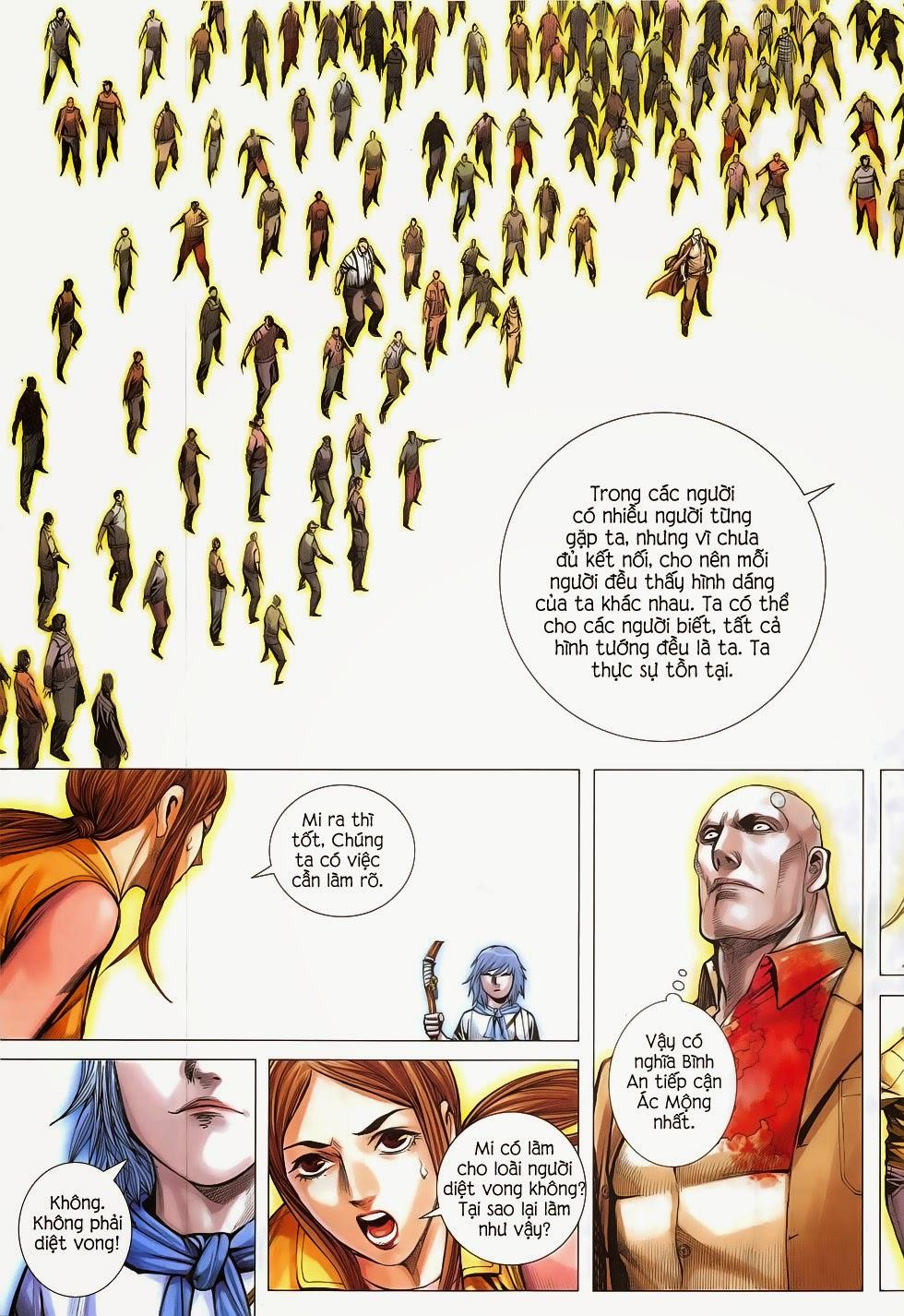 Đại Quân Phiệt chap 54: ác mộng hiện thân trang 9
