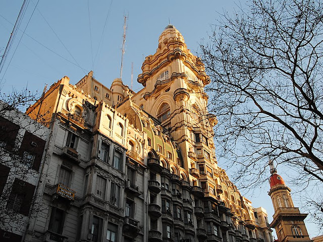 Palácio Barolo em Buenos Aires no mês de agosto