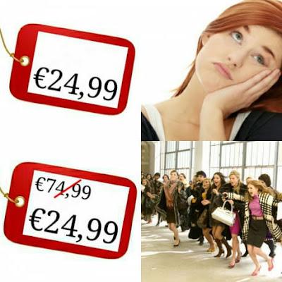 Funny Women's Price Logic Meme