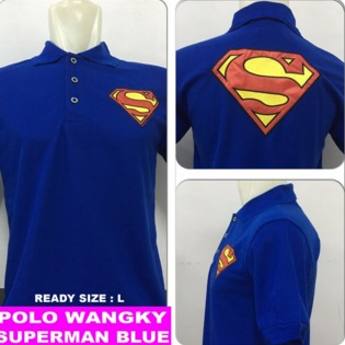 Baju Polo Superman (Berkerah)