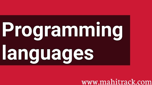 Programming languages kya hai, Top 5 programming languages in hindi
