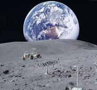 Земля - вид с Луны
