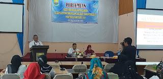 Kabid PPDSP Buka Pertemuan Poklahsar Kegiatan Pengembangan Pemasaran Hasil Perikanan Provinsi Jambi.