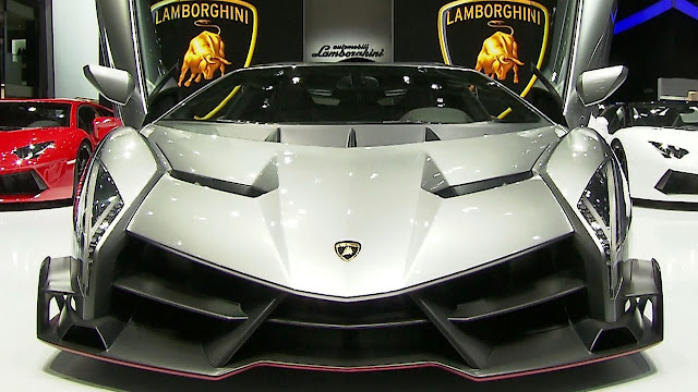 2015 Lamborghini Veneno Design and Features