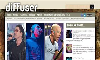 Diffuser+Magazine+Blogger+Template