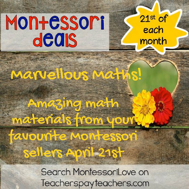 Montessori Love on Teachers Pay Teachers #montessorilove