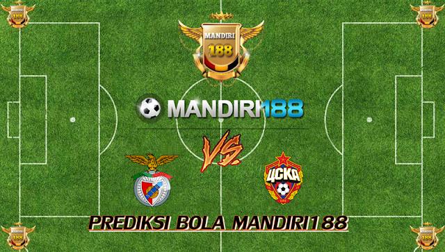 AGEN BOLA - Prediksi Benfica vs CSKA Moscow 13 September 2017