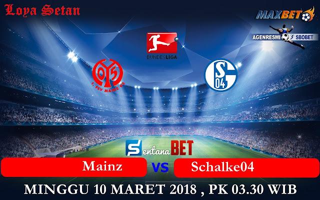 Prediksi Bola Sabtu 10 Maret 2018 : Mainz vs Schalke04