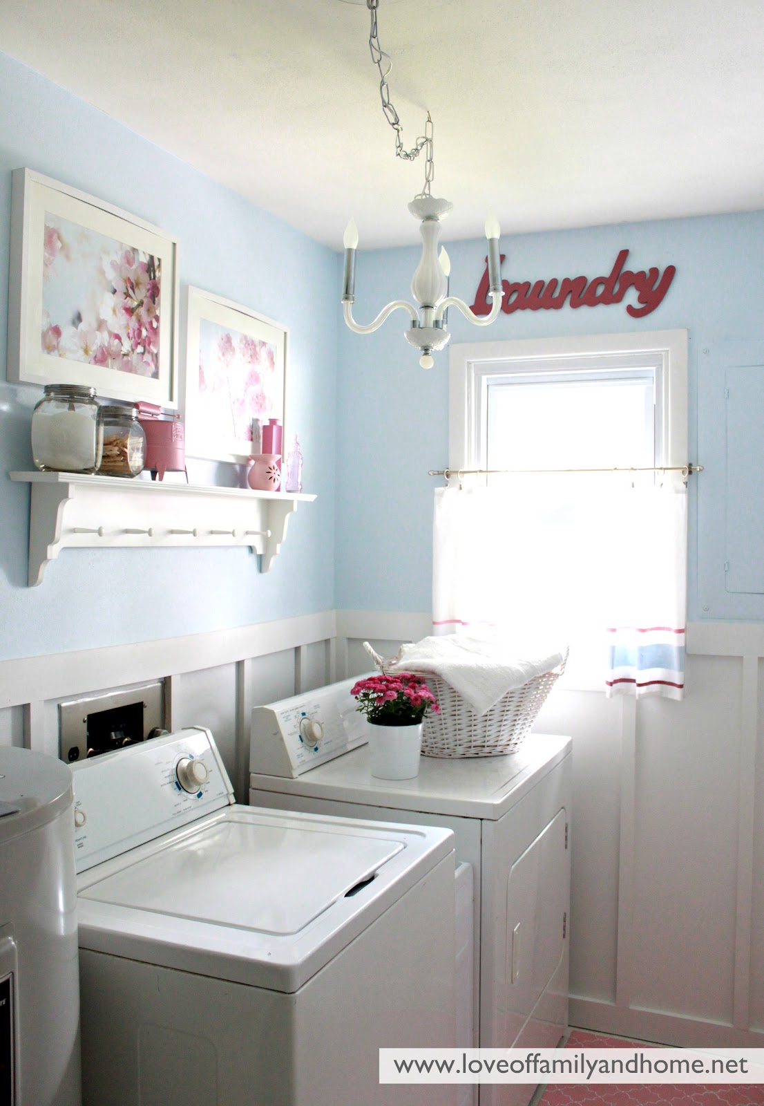 Laundry Room Home: Laundry Room Reveal {Take 2}