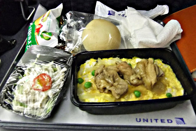 united-airlines-flight-meal ユナイテッド航空機内食