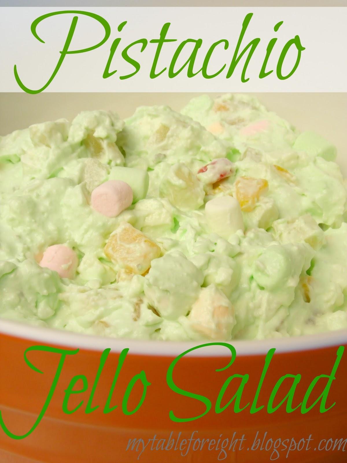 Pistachio Gelatin Salad