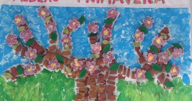 Carta Da Parati Classica Toile Primavera: Il Blog D'infanzia E Dintorni: L'albero Della Primavera