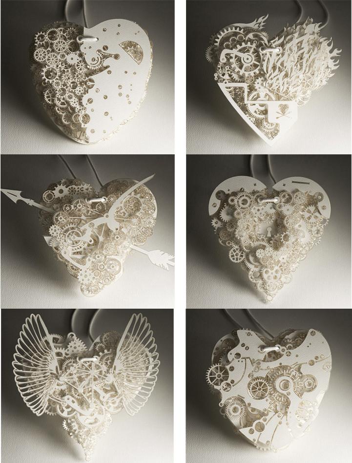 Сердце из бумаги Франка Тьепкема 11