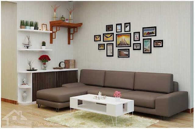 Không gian phòng khách thật đẹp và tiện nghi