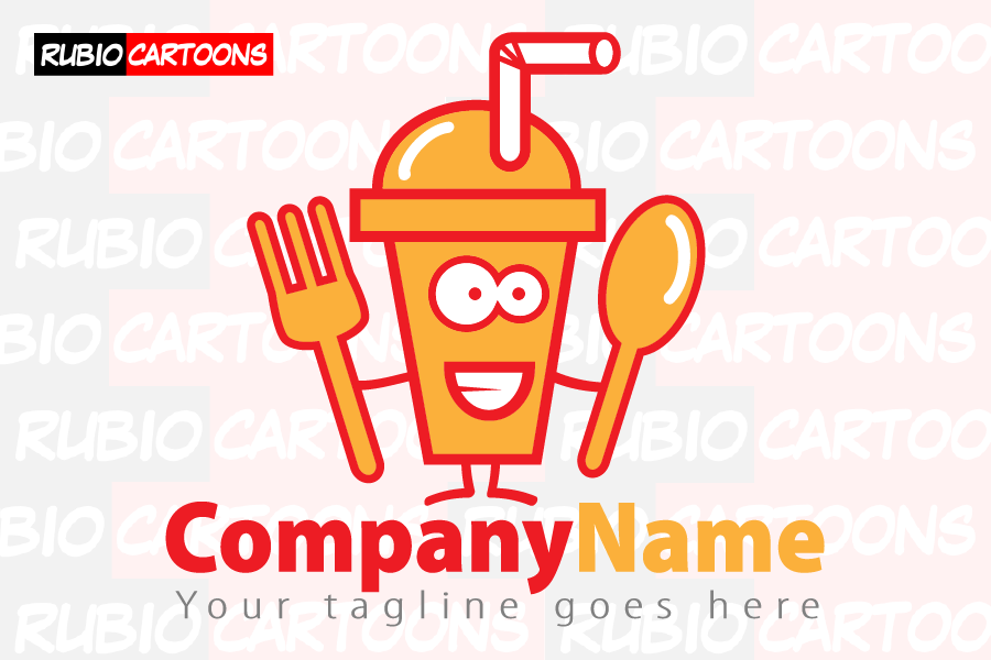 LOGOSTORE: FUNNY BEVERAGE AND FOOD LOGO