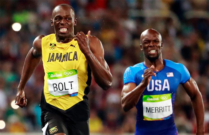 Usain Bolt wins men's 200m gold at 2016 Olympics, compares self to Pele, Muhammad Ali