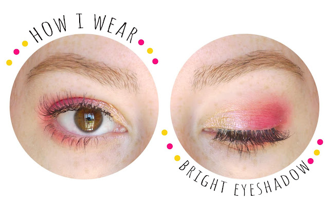 a pink and gold eyeshadow look on brown eyes