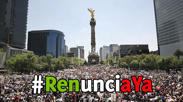 Al Menos 100 Mil Personas Marcharán Contra EPN Del Ángel De La Independencia Al Zócalo.