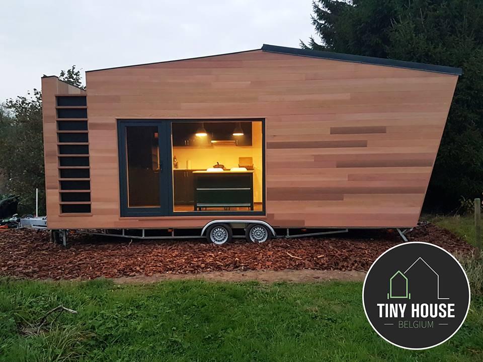 Contemporary Home From Tiny House Belgium