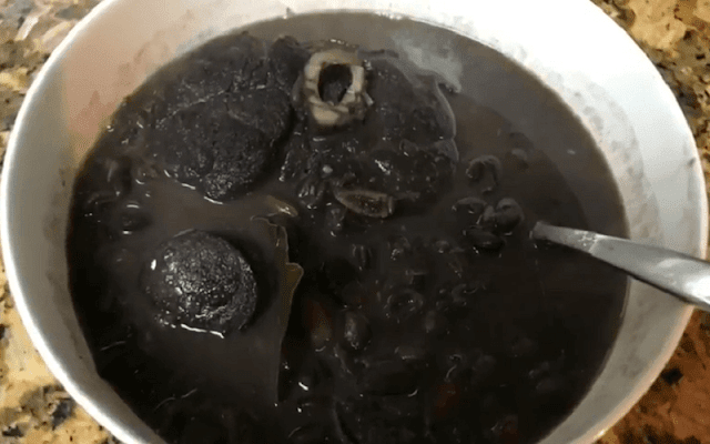 Potaje de Frijoles Negros
