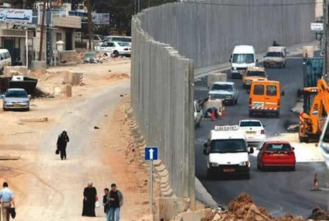 Sejarah Awal Dibangunnya Tembok Pemisah Di Palestina