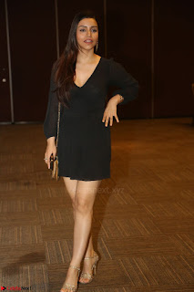 Kyra Dutta in black At Rogue Movie Audio Launch ~  071.JPG