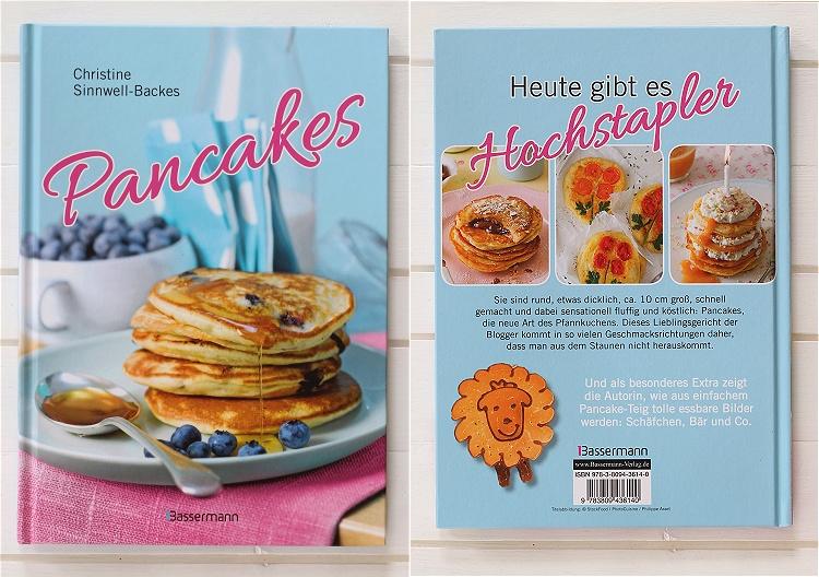Rezension/Buchvorstellung Pancakes von Christine Sinnwell-Backes