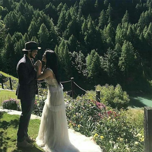 Erwan Heusaff-Anne Curtis Wedding