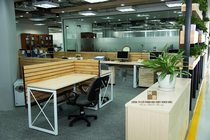 Thiết kế nội thất văn phòng loại bỏ không gian khô khan, cứng nhắc