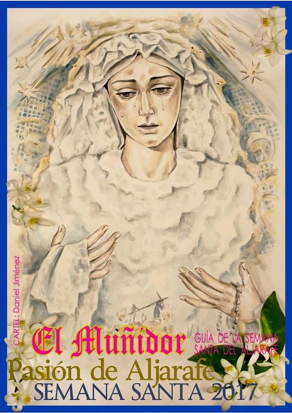 Programa, Horario e Itinerario Semana Santa Aljarafe (Sevilla) 2017: Programa de Mano El Muñidor de Aljarafe