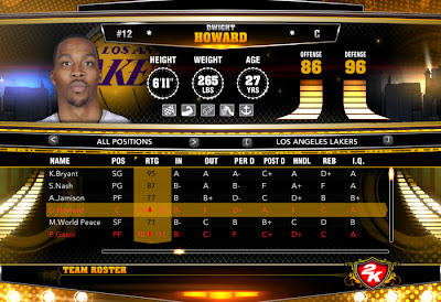 Download NBA 2K13 PC January 12, 2013 Roster Update