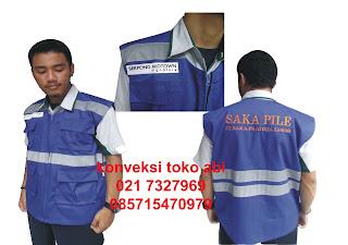 Tempat pembuatan Rompi di Jakarta : Jakarta selatan, Jakarta Barat, Jakarta Timur, Jakarta Utara, Jakarta Pusat