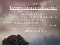 Lomba film pohon Forest Watch Indonesia 2016