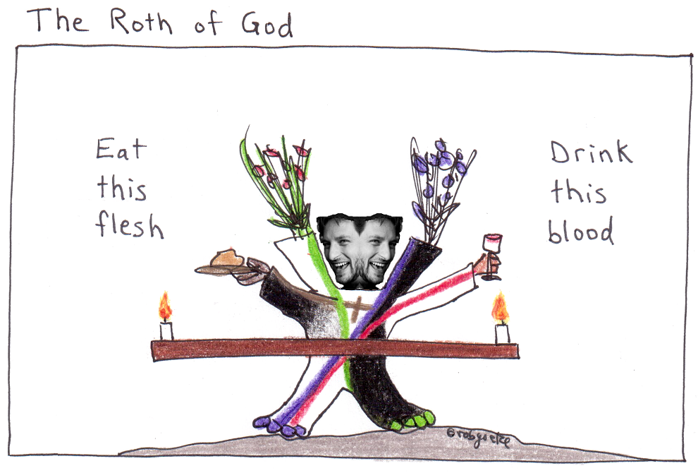 the roth of god, drawing by rob g