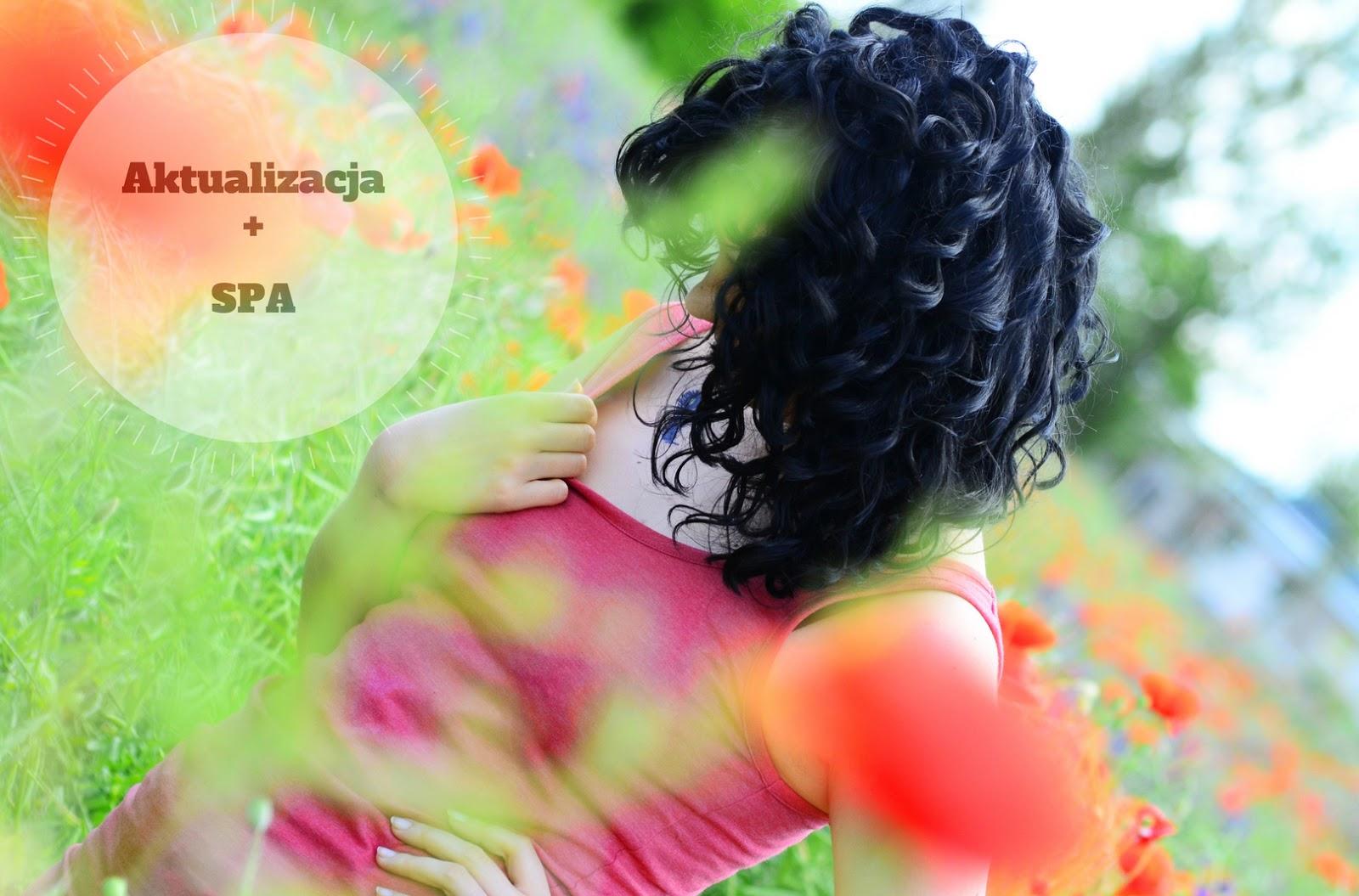 Kudłate SPA | Włosowa Aktualizacja | loki | włosy | kręcone | czarne | maki | łąka