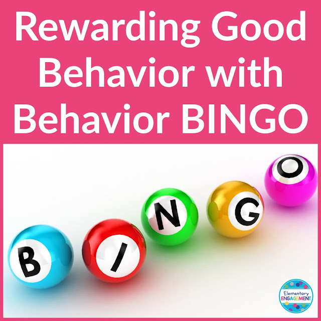 Behavior BINGO is a great way to motivate your students!